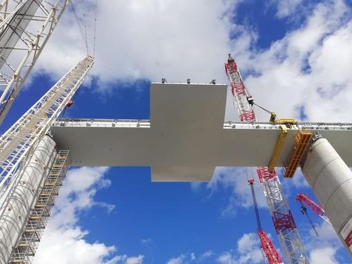La savonese Assotrasporti plaude all'avanzamento dei lavori  per il nuovo ponte di Genova