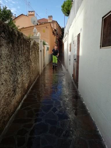 Alassio: è più pulita la zona Nu Cian