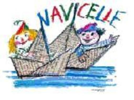 Il logo di Navicelle, la manifestazione per bambini in programma nella seconda metà di giugno