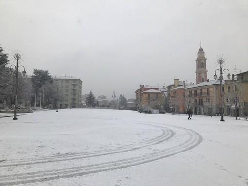 Torna la neve in Val Bormida