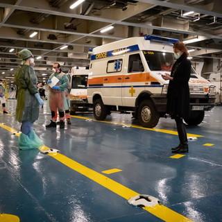 Covid-19, da settimana prossima la nave ospedale di Genova pronta ad ospitare un secondo modulo da 25 pazienti