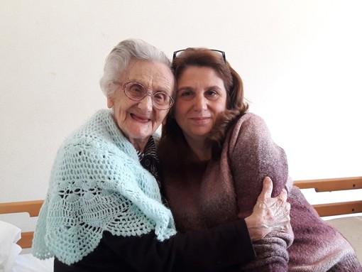 Nonna Rina e la nipote Sabrina