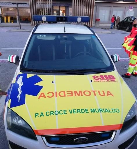 """""""Nuova vita"""" per un'autovettura della Croce Bianca Albenga: diventa operativa con i colori della Croce Verde Murialdo"""