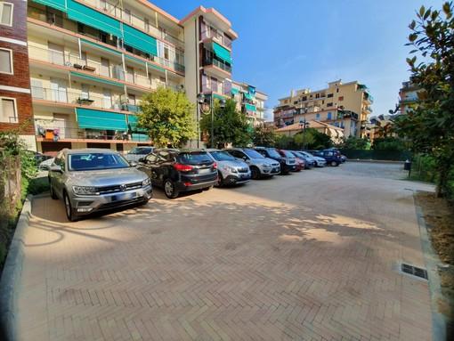"""Borghetto, 12 nuovi parcheggi in Largo Doria, sindaco Canepa: """"In questi 2 anni sono stati realizzati circa 200 stalli"""""""