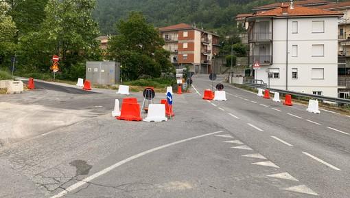 """Nuova rotonda tra le vie Marconi, Belvedere e Volta, il sindaco di Cengio spegne le polemiche: """"Necessaria per ridurre la velocità dei veicoli"""""""