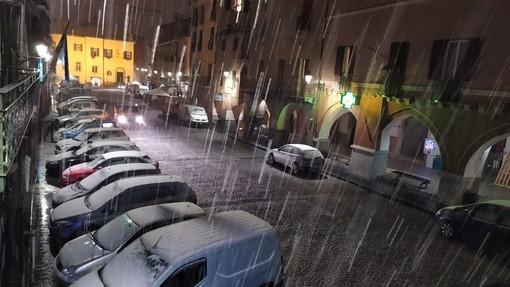 Prima neve in Val Bormida