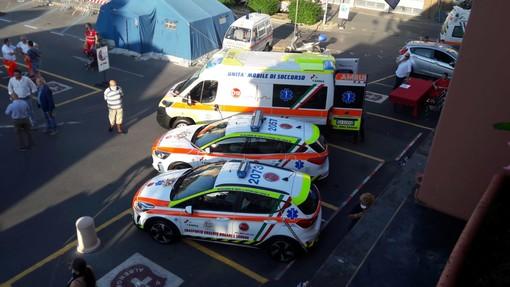 Da oggi in servizio ad Albenga tre nuovi veicoli per la Croce Bianca (FOTO e VIDEO)