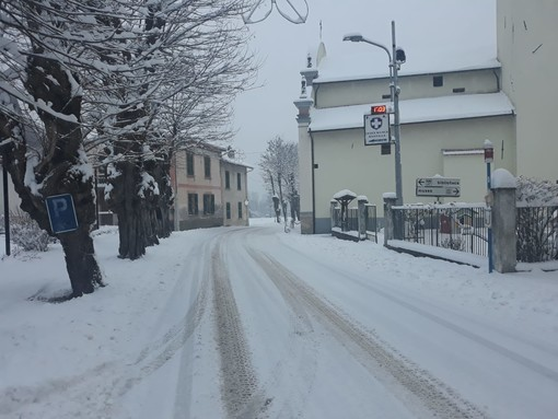 In arrivo una nuova ondata di freddo e neve: attesi accumuli importanti in Val Bormida