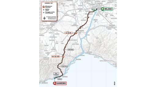 Ciclismo, Milano - Sanremo: ora è ufficiale, la provincia di Savona tagliata fuori dal percorso