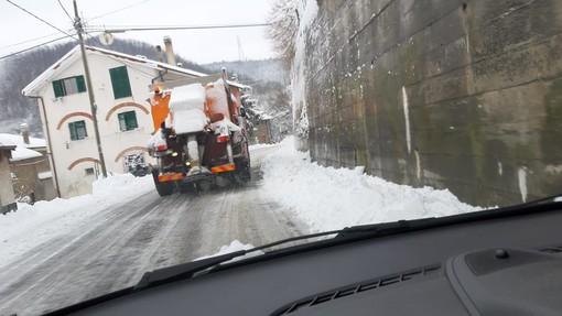 Cosseria, servizio di sgombero neve e spargimento sale: avviata una manifestazione di interesse