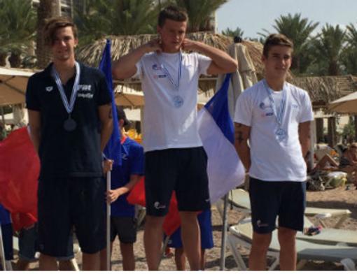 Andrea Filadelli porta alto il nome di Albenga nel mondo del nuoto