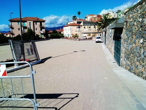 Borgio Verezzi: ultimati i lavori al parcheggio del comune e nel parco giochi di fronte