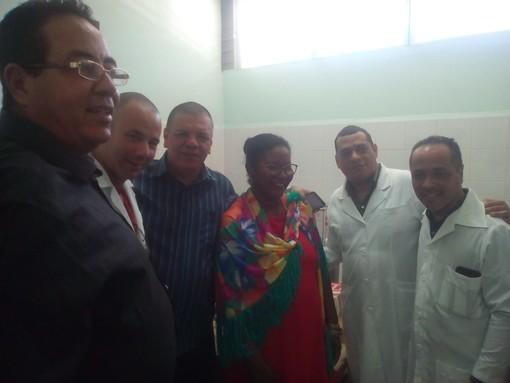 Il Circolo Italia-Cuba di Ceriale aiuta il reparto di gastroenterologia dell'ospedale di Bayamo