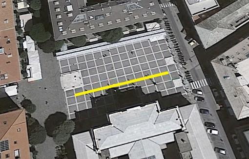 """Piazza Sisto si tinge di giallo: il 23 maggio a Savona inaugurazione speciale di """"Open! Studi aperti"""""""
