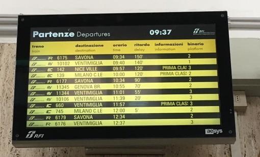Investimento su binari tra Alassio e Albenga: tornata regolare la circolazione dei treni