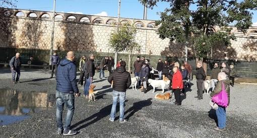 Albisola, inaugurata la nuova oasi canina di via Sisto IV (FOTO e VIDEO)