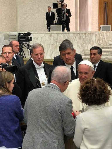 Il Vaticano ringrazia le Albisole per l'opera in ceramica donata a Papa Francesco