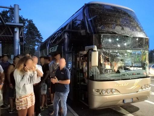 """Viaggio in Croazia: guasto al bus e rientro """"infernale"""" per 9 savonesi"""