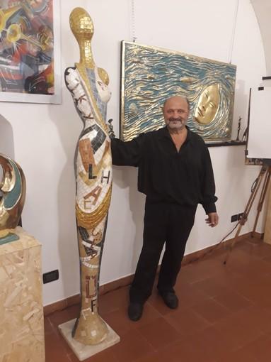Alassio: si conclude la mostra del Maestro Giuliano Ottaviani