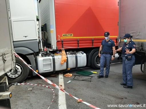 Savona, omicidio all'autoporto: fanno scena muta davanti al Gip i due bielorussi arrestati