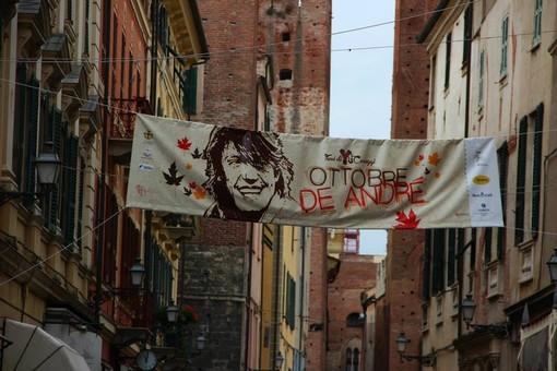 """Albenga, """"Ottobre De André"""" ci siamo: nella Sala degli Stucchi la presentazione del programma"""