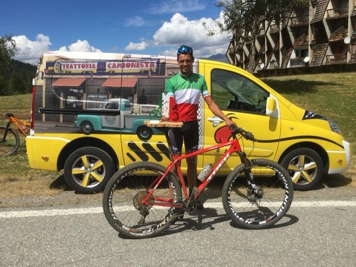 Mountain Bike, il carcarese Michele Piras campione d'Italia XCO categoria M1