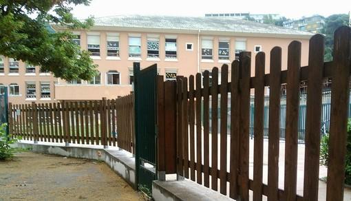Scuola di via Brunenghi a Finale: oltre ai nuovi serramenti Frascherelli lancia  l'idea di una nuova mensa