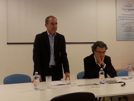 Albenga: Giorgio Cangiano e il criminologo Stefano Padovano parlano di criminalità