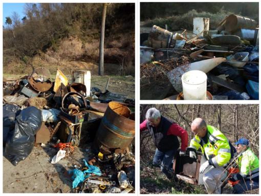 Volontari ripuliscono i boschi di Plodio