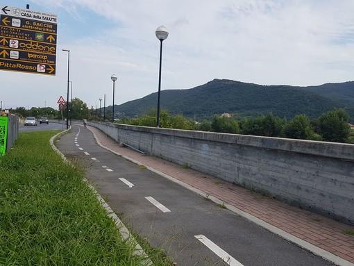 Al via le procedure per affidare l'incarico di realizzazione del progetto della pista ciclabile che collegherà il centro di Albenga con le frazioni di Leca e Bastia