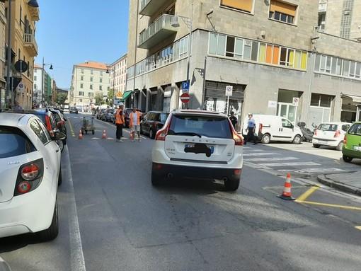 Sta per riaprire al traffico piazza Giulio II a Savona: da martedì 12 novembre via al rifacimento della segnaletica