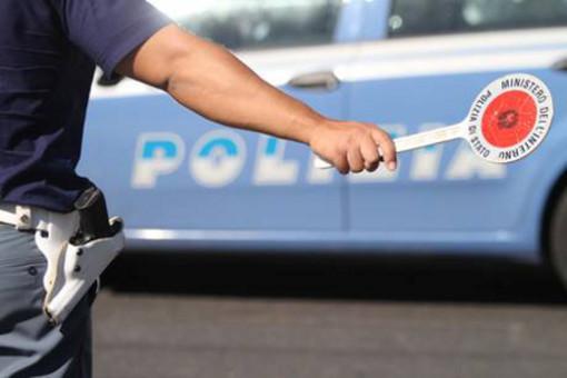 Pattuglione della polizia di stato ad Alassio, Albenga e Comuni limitrofi