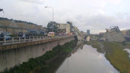 Tragedia del Ponte Morandi: le commemorazioni nella nostra provincia