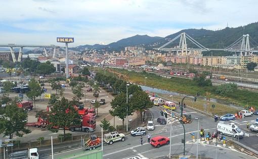 Andora, 43 tocchi di campana per ricordare le vittime del ponte Morandi