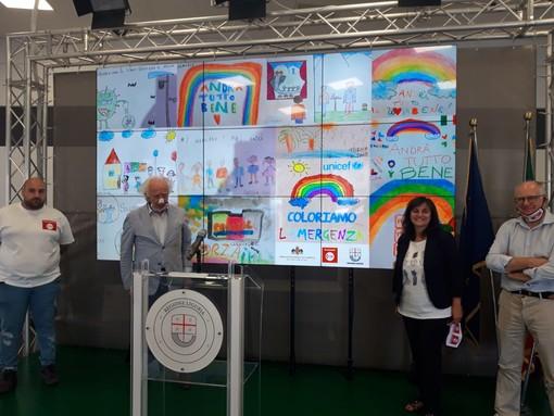 Presentati in Sala trasparenza i disegni fatti dai bambini durante il lockdown