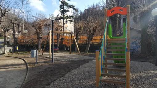 """Altare, restaurato il parco giochi """"Riccardo Richebuono"""" (FOTO)"""