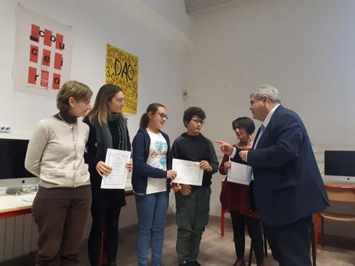 Progetti digitali, all'Istituto Comprensivo di Andora e Laigueglia ben quattro riconoscimenti