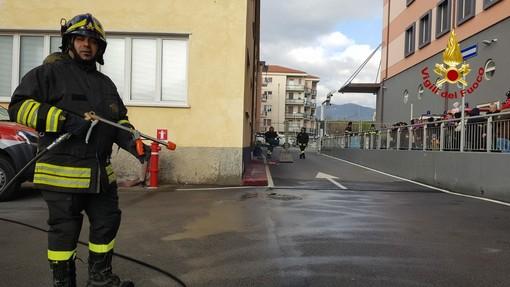 Savona, vigili del fuoco per un giorno: Pompieropoli conquista i bambini