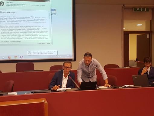 Progetto Elena, il sindaco di Albenga Tomatis chiamato a parlare durante l'incontro in Provincia (FOTO)