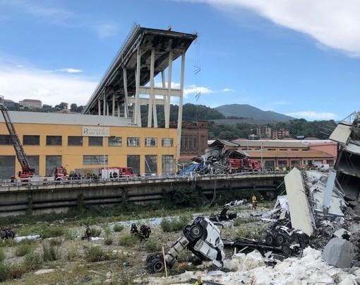 """Genova: abbattimento del pilone 10 del Ponte Morandi, Autostrade:""""Seguiremo le indicazioni della Procura"""""""