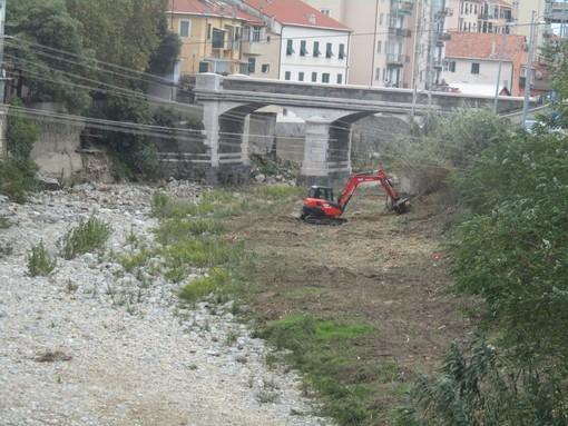 """Savona, prosegue la pulizia del Letimbro alla foce e a Lavagnola. Assessore Santi: """"Presto gli interventi in zona Riborgo e al Santuario"""" (FOTO E VIDEO)"""
