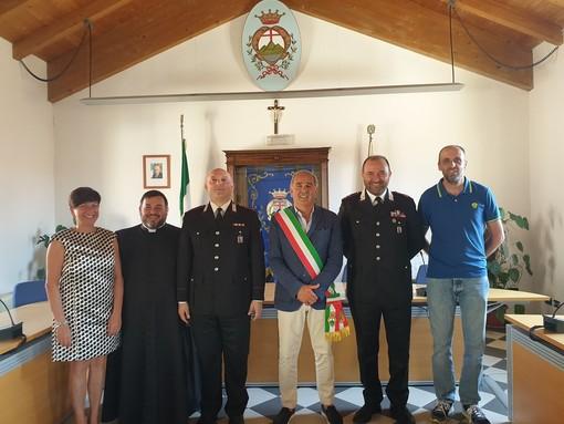 La Stazione dei carabinieri di Pietra Ligure ha un nuovo comandante, il Maresciallo Maggiore Sabato Palmigiano
