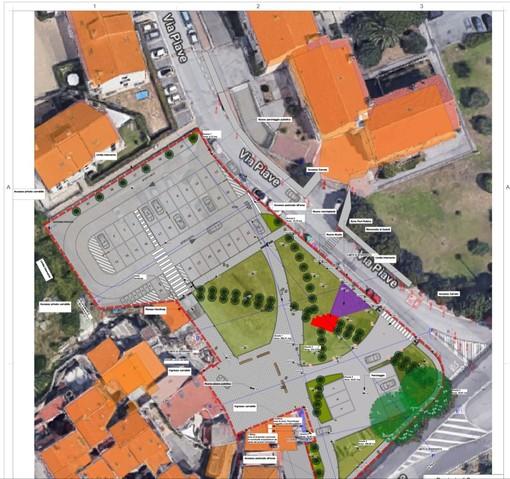 Valle di Vado, affidati i lavori per la realizzazione di piazza Vernazza: intervento da 380mila euro