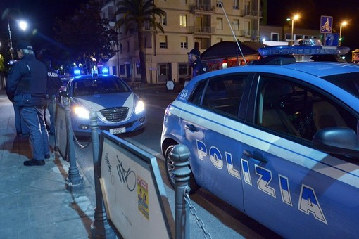 Controlli della Polizia di Stato ad Alassio e Albenga