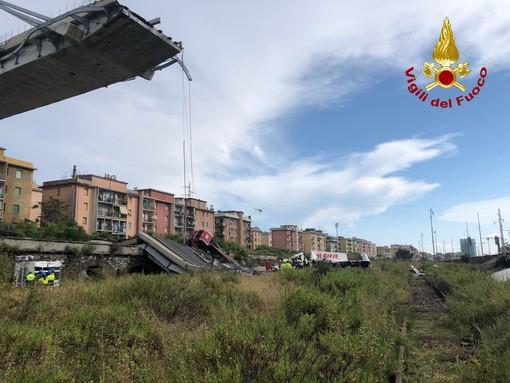 Viadotto Polcevera: Autostrade per l'Italia esprime cordoglio per le vittime e ringrazia i soccorritori