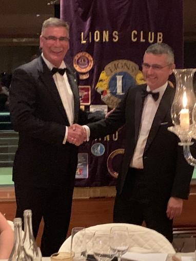 Charter e nuovo direttivo per il Lions Club Loano Doria