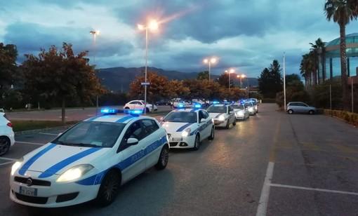 """Albenga, operazione ad alto impatto della polizia locale. L'assessore Vannucci: """"Azione importante in ottica preventiva"""""""