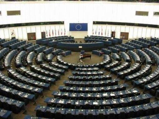 Nell'immagine di repertorio: il parlamento europeo