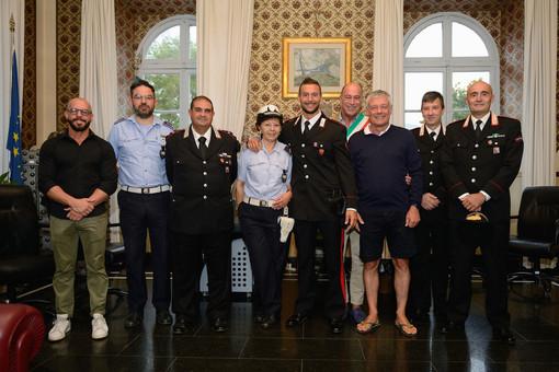 Alassio premia Vittorio Iermano, il carabiniere campione di kickboxing (FOTO)