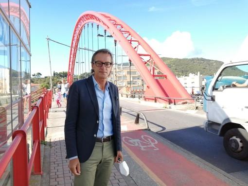 Albenga: i lavori sul Ponte Viveri proseguono, ma si riapre al traffico